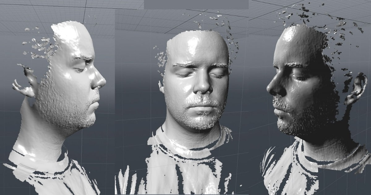 3D Face Recognition Biometric System Matlab Full Source Code